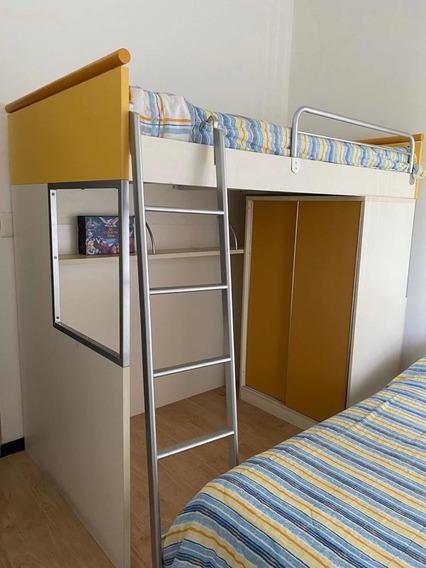 Camarote Fino De Altea+closet+2 Colchones Shelter Ortope