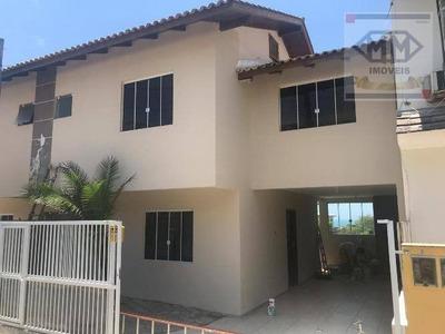 Casa Com 2 Dormitórios Para Alugar Por R$ 2.000/mês - Ingleses Do Rio Vermelho - Florianópolis/sc - Ca1666