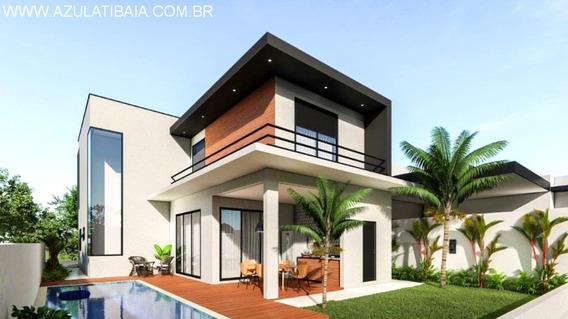 Casa Nova Em Atibaia, Condomínio Fechado, 3 Suítes, Lindo Projeto - Ca00483 - 34293151