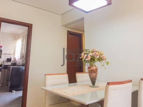 Ótimo Apartamento Com 2+1 Dormitórios À Venda, 91 M² Por R$ 330.000 - Centro - Campinas/sp - Ap5590