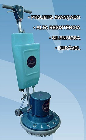 Enceradeira Cleaner Cl300 Lustra/lava/limpa C/ Reservatorio