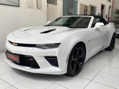 Chevrolet Camaro 6.2 V8 Ss Conversível 2018 Branca