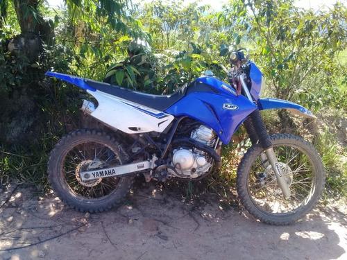 Moto Yamaha  Lander 250-2012 Azul E Branca -usada