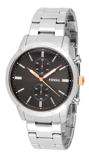 Reloj Fossil Fs5407 Hombre Casual Pulso Metalico ¡inmediata!