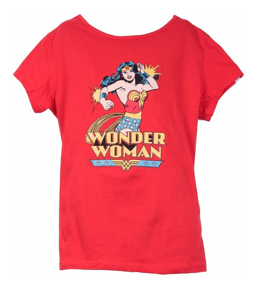 Remera, Dc, Wonder Woman. Ovni Press, Original, Lic Oficial