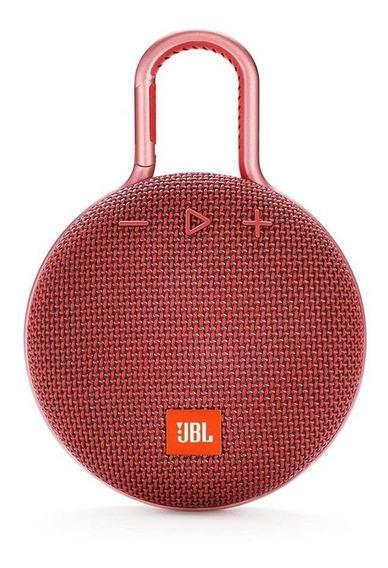 Caixa de som JBL Clip 3 portátil Fiesta red