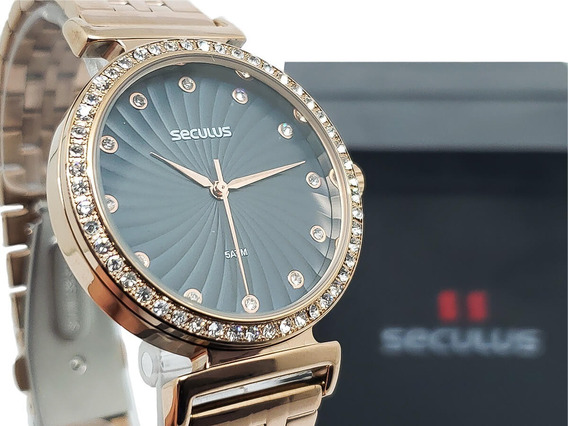 Relógio Feminino Seculus 20738lpsvrs3 Garantia 2 Anos