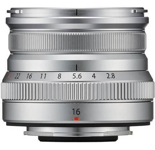 Lente Fujifilm Xf 16mm F/2.8 R Wr (prata)
