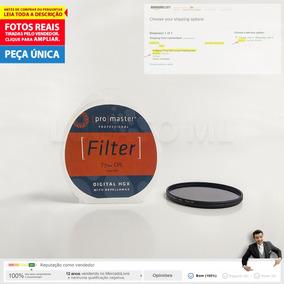 Filtro Promaster 77mm Polarizador Circular Até 12x S/ Juros