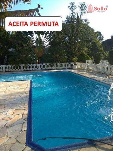 Imagem 1 de 27 de Chácara Com 3 Dormitórios À Venda, 13500 M² Por R$ 1.100.000,00 - Jardim Santos Reis - Piracaia/sp - Ch0019