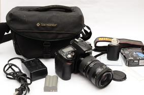 Camara Nikon D90 Reflex Dsrl 12mpx Video Hd Full Accesorios