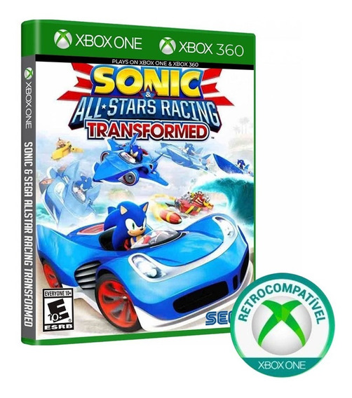 Sonic All Stars Racing Transformed - Xbox One/360 - Novo