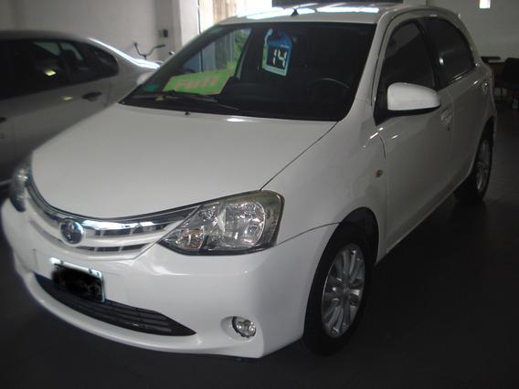 Toyota Etios 1.5 2014 Nafta 5 Ptas Xls 100000km Full-full