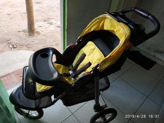 Carrinho De Bebê Tres Rodas