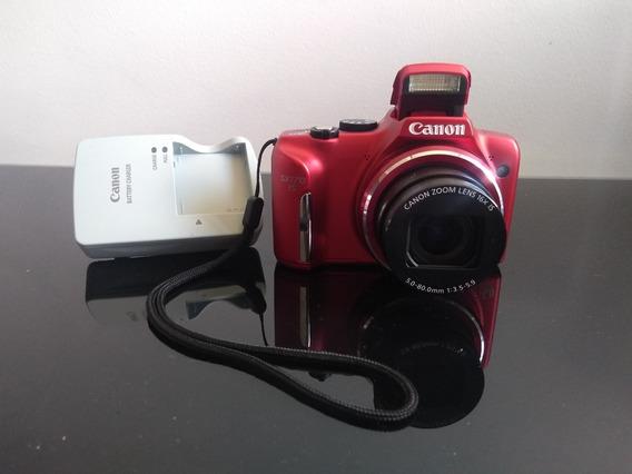 Câmera Canon Semi Profissional Powershot Serie Sx - Sx170is