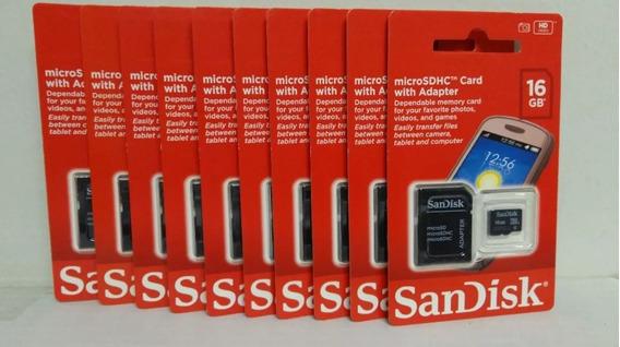 Cartão De Memoria 32gb Sandisk Original (atacado)