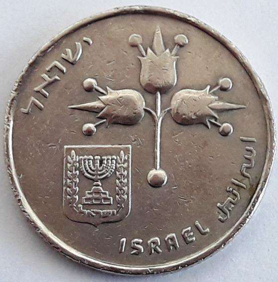 Israel Moneda De 1 Lira Del Año 1970 (5730)