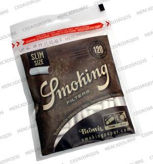 Filtros Smoking Brown Biodegradables. Liar Papel Zig Zag.