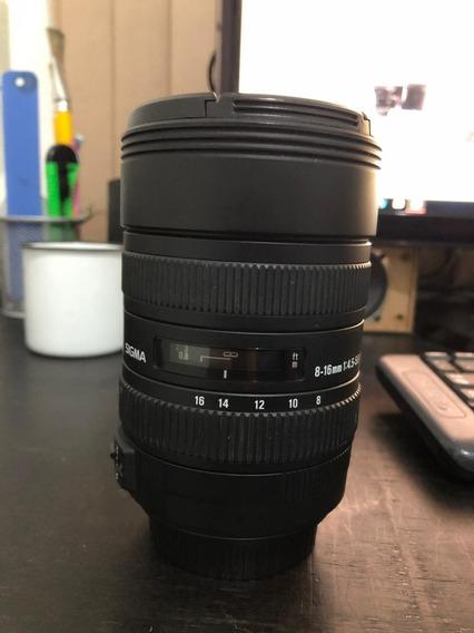 Lente Sigma 8-16mm P/ Canon