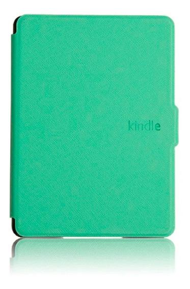 Capa Case Novo Kindle 10ª G. Menta + Película + Caneta Touch