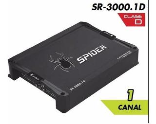 Amplificador Auto Spider 3000w Clase D 1 Canal Audio