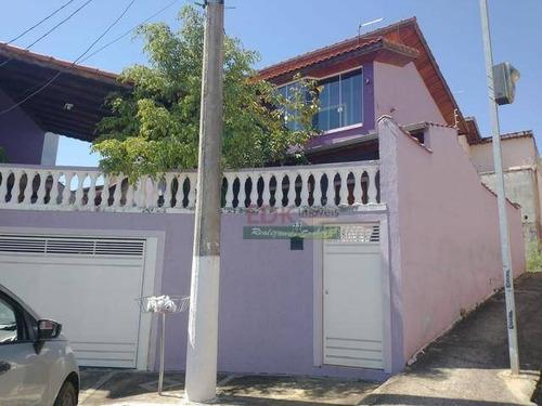 Imagem 1 de 10 de Casa Com 3 Dormitórios À Venda, 221 M² Por R$ 371.000 - Borda Da Mata - Caçapava/sp - Ca4964