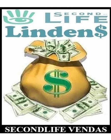 Second Life - 2000 Lindens 2k Pronta Entrega