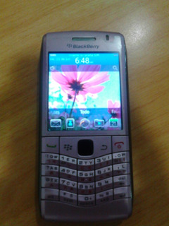 Celular Blackberry Peart 9100 Dice Error De Chip Usado