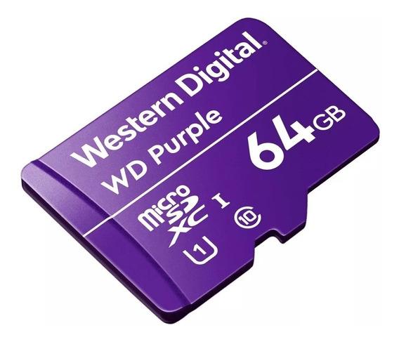 Cartão De Memória Intelbras 64 Gb P/ Câmeras De Segurança