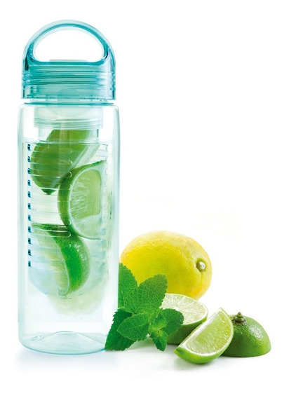 Botella Para Agua De Tritan Con Infusor 690 Ml Marca Ibili