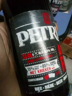 Cerveza Petrus Aged Red 15% Kriek 85% Dubbel Bélgica,caball