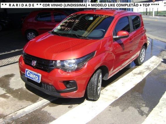 Fiat Mobi 2017 Like Completo Ar Condicionado Vinho Baixa Km