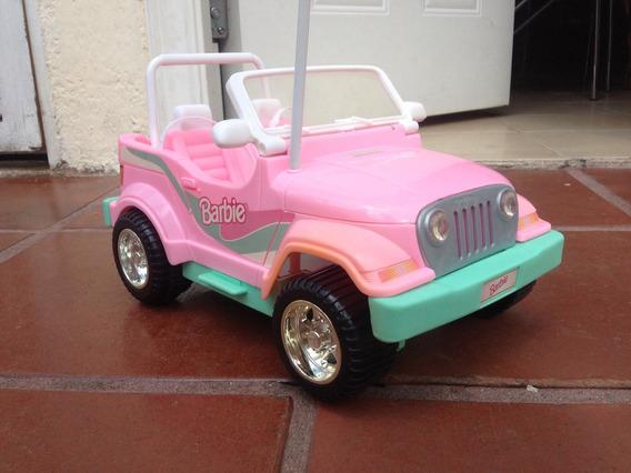 Jeep 4x4 De La Barbie A Radiocontrol