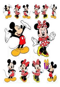 Kit Display Mickey E Minnie Festa Infantil 12pçs