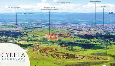 Terreno À Venda, 440 M² Por R$ 225.000 - Condomínio Cyrela Landscape - Taubaté/sp - Te1026