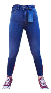 Jeans Dama Rapsodia / Tucci Elastizado Chupin