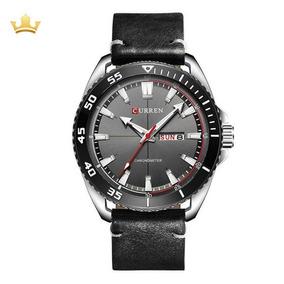 Relógio Skmei Masculino Curren 8272 - Preto Com Nf