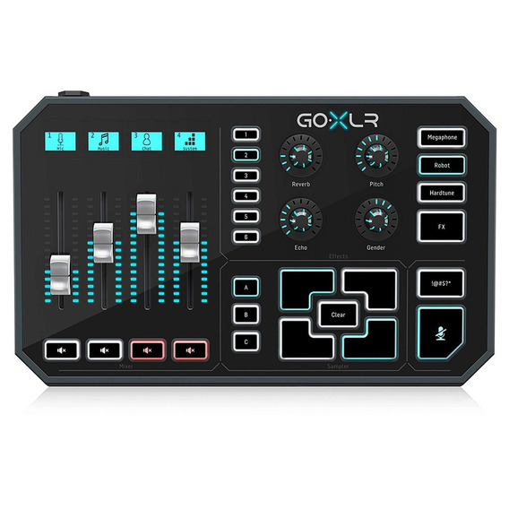 Mixer Tc Helicon Go Xlr Gameplay Streaming Multi-efeitos