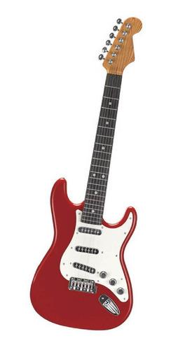 Guitarra Eletrônica Musical Guitarra Infantil Vermelho