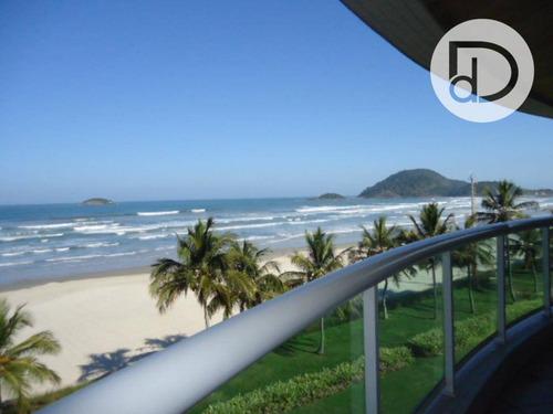 Apartamento Com 4 Dormitórios À Venda, 176 M² Por R$ 4.100.000,00 - Riviera De São Lourenço - Bertioga/sp - Ap1815
