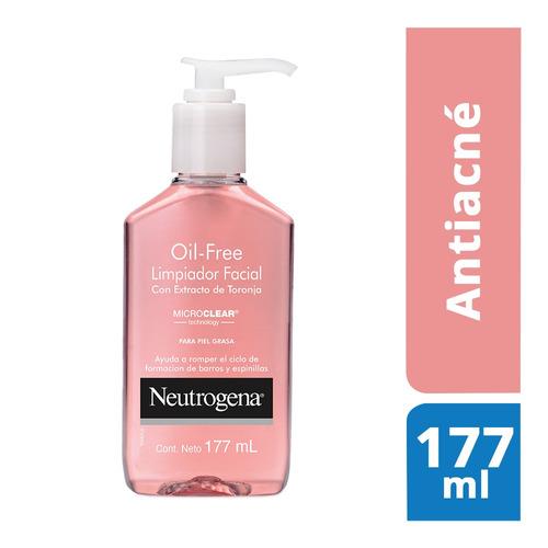 Imagen 1 de 3 de Limpiador Facial Oil Free Extracto Toronja 177ml Neutrogena