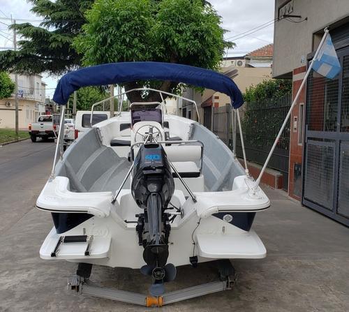 Motor Power Tec 40 Hp Arranque Electrico Nautica Milione 5