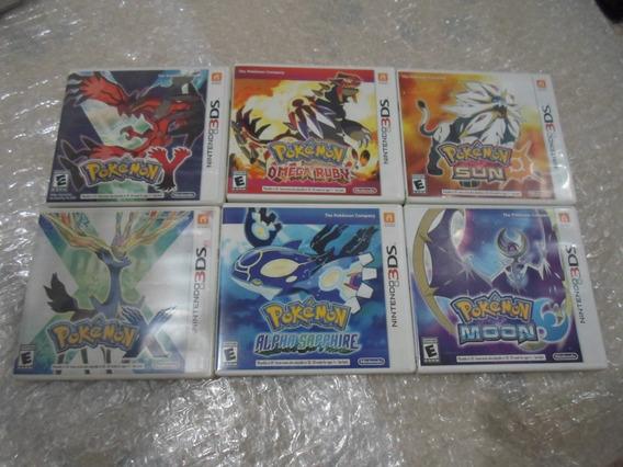Coleção Pokémon Para Nintendo 3ds