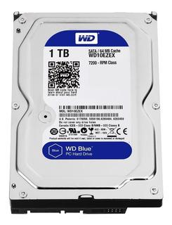 Disco Rígido 1tb Western Digital Blue Sata Pc Hd