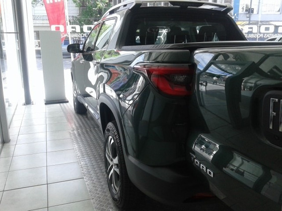 Fiat Toro Volcano 2.0 2019 Verde Diesel Retiro Inmediatodf