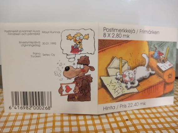 Sellos Postales De Finlandia 1995 - Filatelia Estampillas