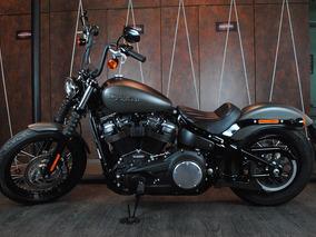 Harley Davidson Street Bob 2018/2018 Com Apenas 200 Km