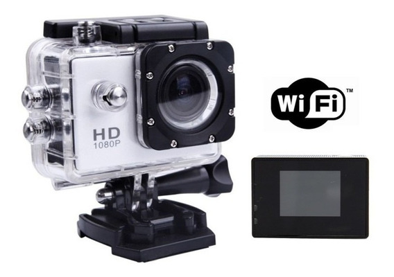 Camera Sports Wifi Full Hd 1080 Modelo X4000 Prova D