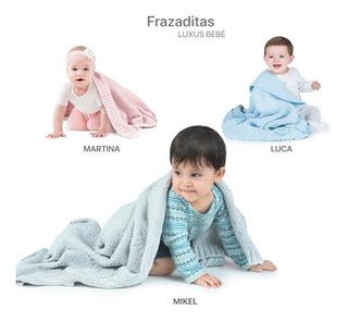 Frazada Tejida Para Bebe De *chenille* 0.75x0.75 M - 1 Pz