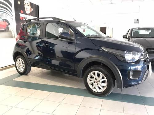 Fiat Mobi Way - 2016 - Azul